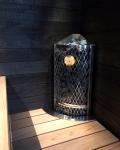 IKI Saunaöfen ELEKTRISCHER SAUNAOFEN IKI CORNER 7,6kW IKI CORNER
