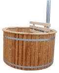 Outdoor bathtubs OUTDOOR HOT TUB WITH BUILT-IN WOOD BURNING STOVE, 2000L