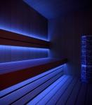 LED-Streifen, Einfarbig WASSERDICHT 5050 BLAU 12W/1M, 60LED/1M