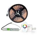 Steam sauna lightning Steam sauna LED light LED strips, RGB SAUFLEX 5050 LED RGB -LUX- SET 12 W/m 60 LED/m