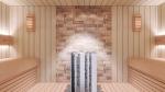Sauna lamps SAUNALED LED-LIGHT 180TRL 8W