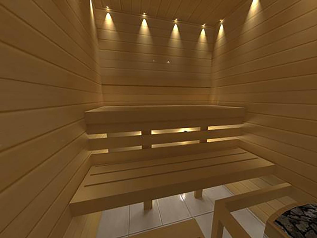 cr ez vous m me votre sauna kit 2000x2000 mm. Black Bedroom Furniture Sets. Home Design Ideas