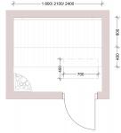 Modulare Saunabank SAUNABANKMODULE, STANDART, ESPE