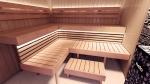 Modulare Saunabank SAUNABANKMODULE, OPTIMAL, ERLE