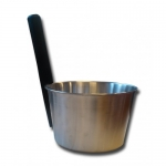 Sauna bucket and ladle sets CHRISTMAS OFFERS BLACK FRIDAY SAUNIA STAINLESS STEEL SET 4,0 L