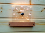 Sauna thermo and hygrometers SOLO SAUNIA LED-THERMOMETER