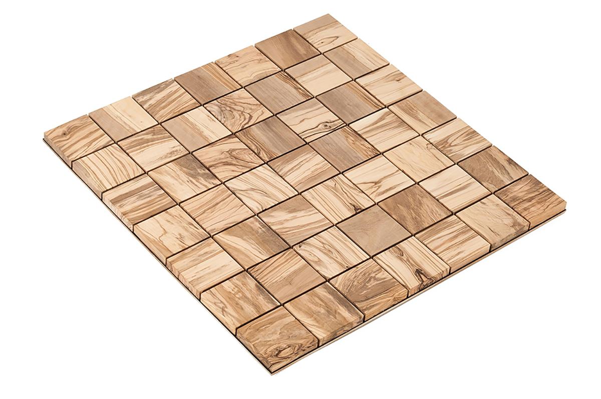 Panneaux d coratifs en bois square 70 olivier - Panneaux de bois decoratifs ...