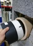 Befestigungstechnik und Werkzeuge Sauna Rauchrohre DICHTSCHNUR 900°C DICHTSCHNUR 900°C