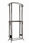 Fireplace accessories BASE FOR FIRE WOOD WITH TOOLS