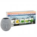 Aromatherapy kits SAUNA SET «AROMATHERAPY» STANDART 3, SAUFLEX