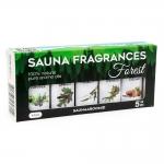 Sauna aromas SAUFLEX SAUNA ESSENTIAL OIL COLLECTION 5X15ML, FOREST