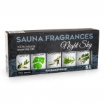 OUTLET Sauna aromas SAUFLEX SAUNA ESSENTIAL OIL COLLECTION 5X15ML, NIGHT SKY