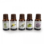 OUTLET Sauna aromas SAUFLEX SAUNA ESSENTIAL OIL COLLECTION 5X15ML, HERBAL