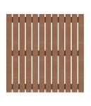 Sauna Bodenrost Sauna Bodengitter BODENROST, THERMO ESPE 600 x 600 mm