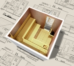hidden menu Käsin kokoonpantavat saunat Yksilö projekti SAUNA PROJEKTI