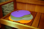 Sauna Sitzauflage SITZAUFLAGEN 4 St.