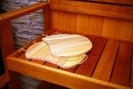 Sauna seats OUTLET ALDER SAUNA BENCH SEAT