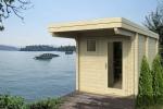 SAUNAINTER Sauna d'exterieur SAUNA MAISON AVEC EERO FLAT