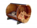 SAUNAINTER Sauna d'exterieur SAUNA MAISON AVEC SAUNA 250