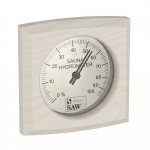 Sauna thermo and hygrometers SOLO SAWO HYGROMETER 270-HBA, ASPEN