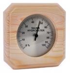 Sauna Thermo- und Hygrometer SOLO SAWO THERMOMETER / HYGROMETER 220, KIEFER