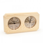 Sauna Thermo- und Hygrometer DUO OUTLET SCHWARZER FREITAG SAWO THERMO-HYGROMETER 221-THP SAWO THERMO-HYGROMETER 221-TH