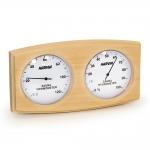 Sauna Thermo- und Hygrometer DUO HARVIA THERMO-HYRGROMETER SAS92300, ERLE