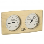 Sauna thermo and hygrometers DUO OUTLET SAWO THERMO-HYGROMETER 271-THBP SAWO THERMO-HYGROMETER 271-THB