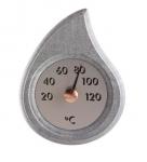Sauna Thermo- und Hygrometer SOLO HUKKA PISARAINEN