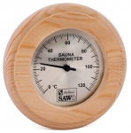 Sauna Thermo- und Hygrometer SOLO OUTLET SAWO RUNDE THERMOMETER / HYGROMETER