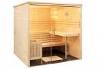 SENTIOTEC Сabines de sauna VENDREDI NOIR CABINE DE SAUNA ALASKA VIEW SENTIOTEC ALASKA