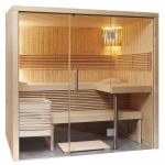 SENTIOTEC Сabines de sauna CABINE DE SAUNA PANORAMA SMALL SENTIOTEC PANORAMA