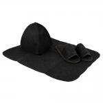 Sauna clothes Clothes for sauna SAUFLEX SET, BLACK