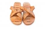Textilien für Sauna Kleidung für die Sauna HOLZSANDALEN
