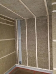 Sauna Holzleisten KIEFER GERÜST 45x45mm 2400mm