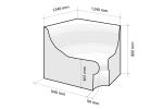 für Dampfsauna für Dampfsauna Dampfbad Sitze DAMPFBAD SITZ V-1