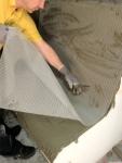 Befestigungstechnik und Werkzeuge für Dampfsauna für Dampfsauna Dampfbad Sitze POLYSTYROLSCHAUM PUTZGEWEBE