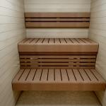 Modulare Elemente für Saunabank FERTIGE MODULE, THERMO ESPE, 140x600x1600-2400mm