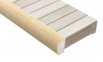 Saunan laudepuut HAAPA PENKKI ETUPANEELIN SHA 42x88x1800-2400mm