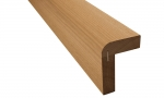 Sauna bench materials THERMO ASPEN BENCH FRONT PANEL SHA 80x108x2100-2400mm