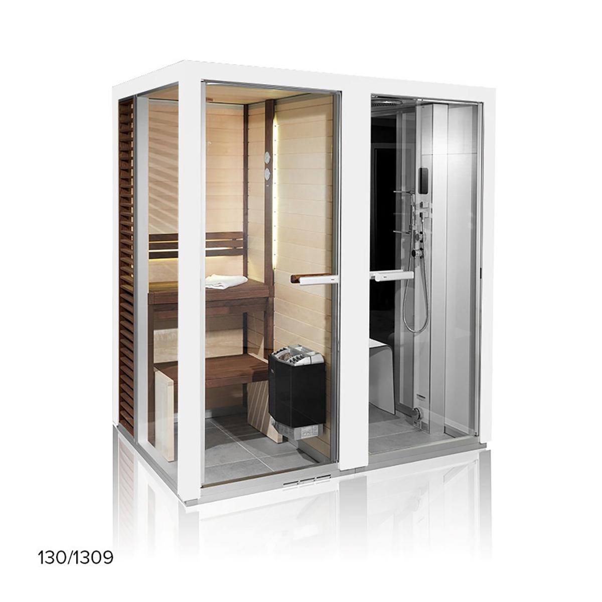 Cabine De Sauna Prix cabine de sauna tylÖhelo impression twin, twin 130/1313