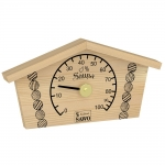 Sauna thermo and hygrometers SOLO OUTLET SAWO LOG HOUSE HYGROMETER 145-HBP