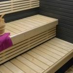Sauna Holzchutz und -pflege TIKKURILA SUPI SAUNA WACHS FÜR SAUNA SCHUTZ, SCHWARZ