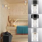 Sauna lamps SAUNALAMP TYLÖHELO ARMATURE OPUS 100 H100