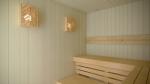 Sauna Lampenschirme SAUNA LAMPENSCHIRM FÜR ECKEN V